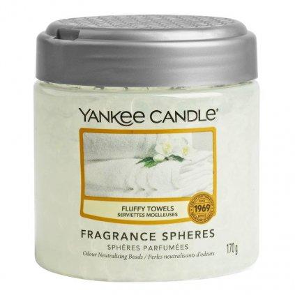 Yankee Candle - Spheres vonné perly Fluffy Towels (Nadýchané osušky) 170g