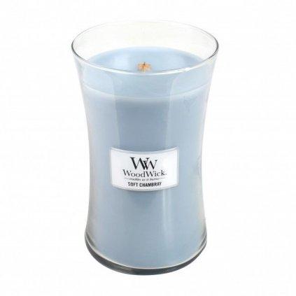 WoodWick - vonná svíčka Čisté prádlo 609g