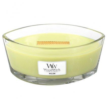 WoodWick - vonná svíčka Willow (Vrbové květy) 453g