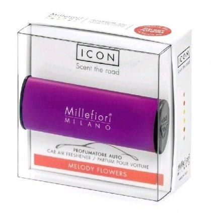 Millefiori Milano - ICON vůně do auta Melody Flowers 47g