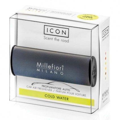 Millefiori Milano - ICON vůně do auta Cold Water 47g