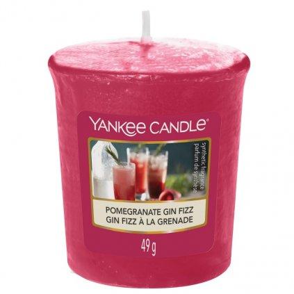Yankee Candle - votivní svíčka Pomegranate Gin Fizz 49g