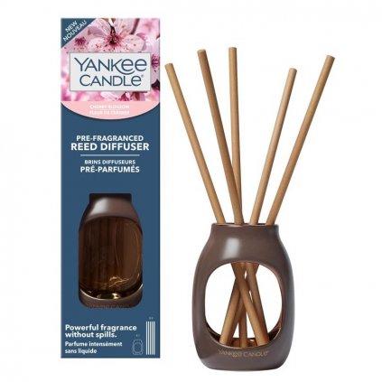 Yankee Candle - pre-fragranced aroma difuzér Cherry Blossom (Třešňový květ)