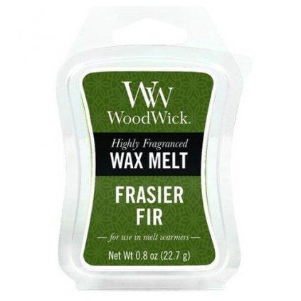 WoodWick - vonný vosk Frasier Fir (Fraserova jedle) 23g