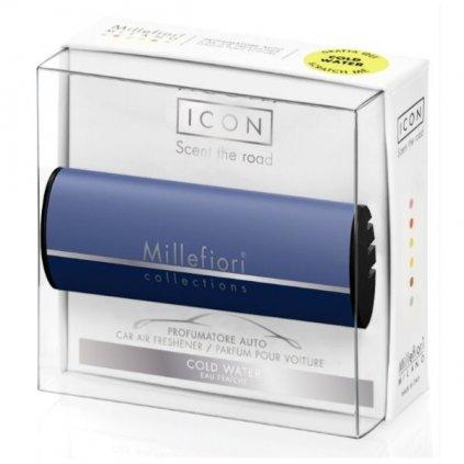 Millefiori Milano - ICON vůně do auta Cold Water, limitovaná edice 47g