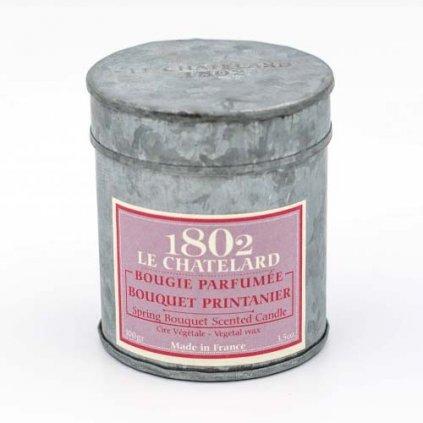 Le Chatelard - vonná svíčka Jarní louka, 100g