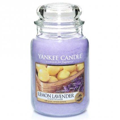 Yankee Candle - vonná svíčka Lemon Lavender 623g