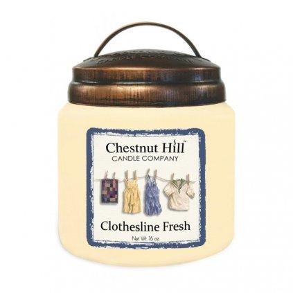 Chestnut Hill - vonná svíčka Clothesline Fresh 454g