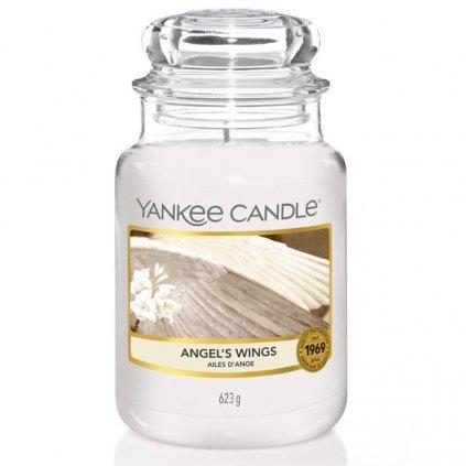 Yankee Candle - vonná svíčka Angel's Wings (Andělská křídla) 623g