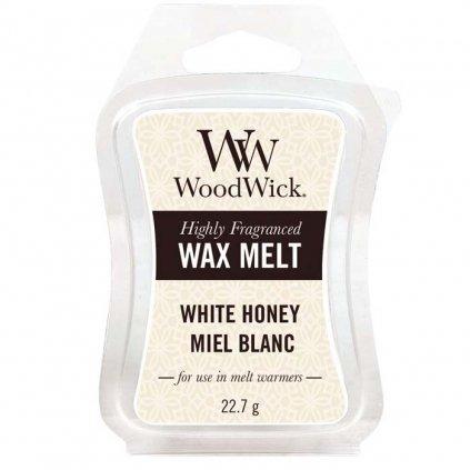 WoodWick - vonný vosk White Honey (Bílý med) 23g