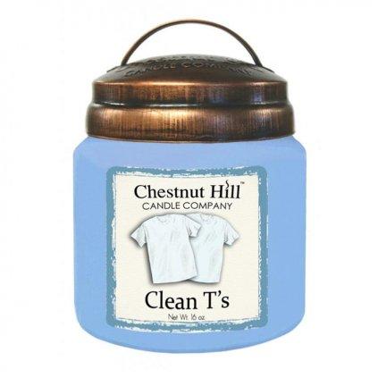 Chestnut Hill - vonná svíčka Clean T's (Čisté tričko) 454g