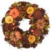 Věnec podzimní dekorační, 30 cm