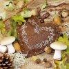 Ubrousky Podzimní srdce 33x33 cm, 20 ks