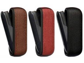Kožený obal imitace dřeva na IQOS 3 DUO