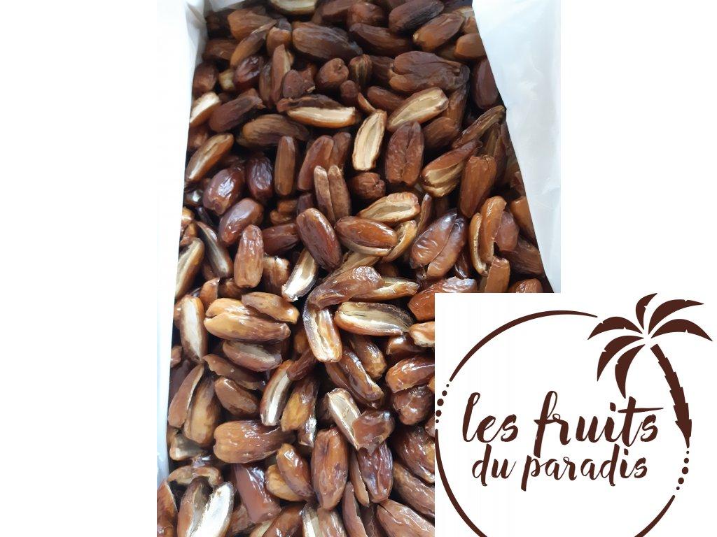 Datle Deglet Nour Bio bez pecky Industrie  Alžírsko