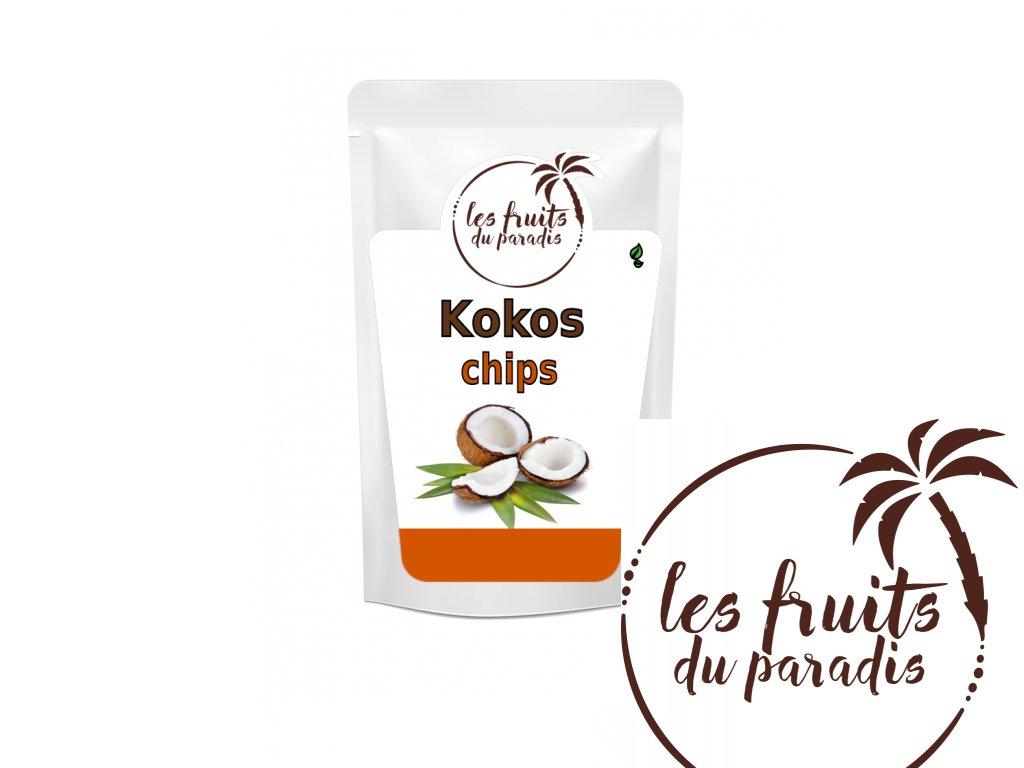 Kokos chips neBio sacek