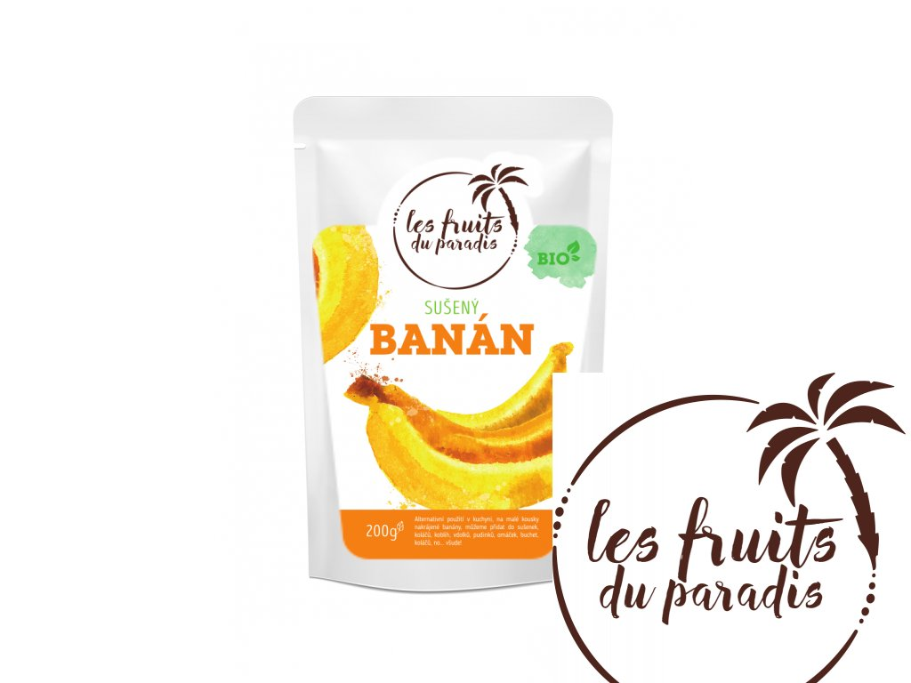 Banan Bio sacek 200g