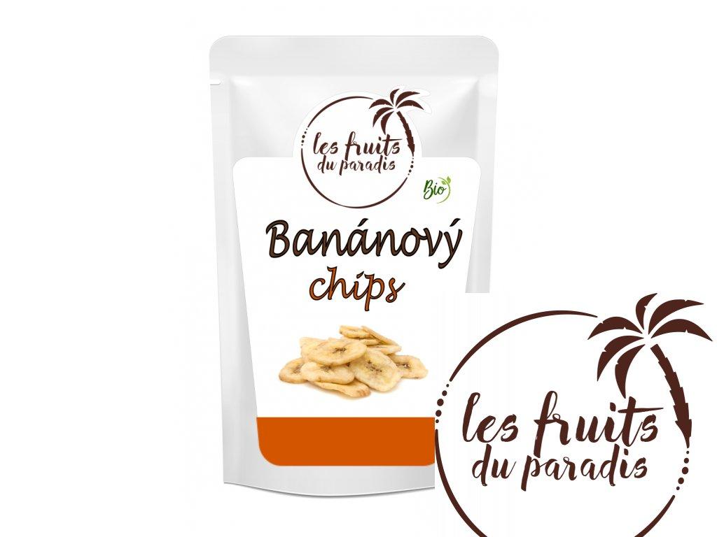 Banan Chips Bio sacek