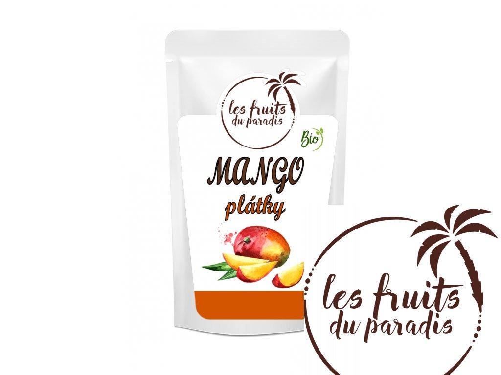 Mango plátky Bio sacek