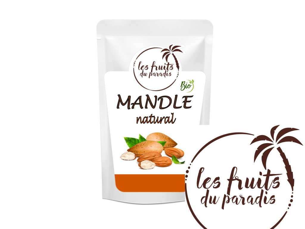 Mandle natural Bio sacek