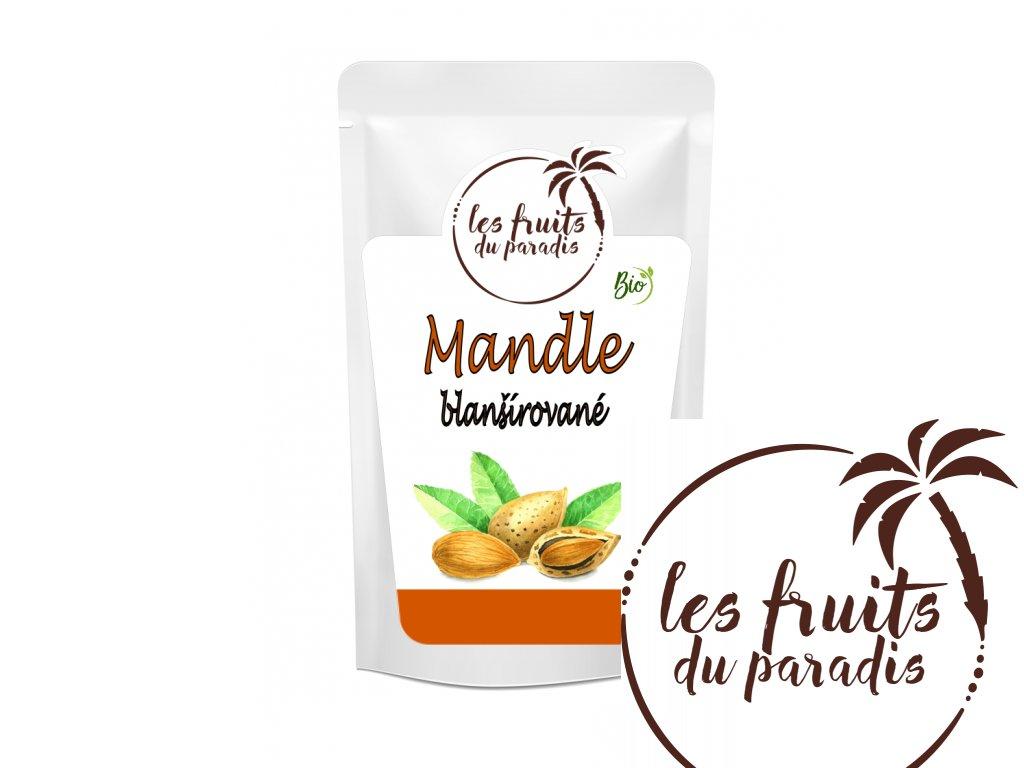 Mandle blansirovane Bio sacek