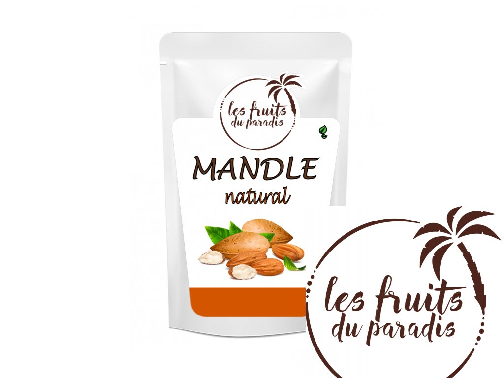 Mandle natural sacek