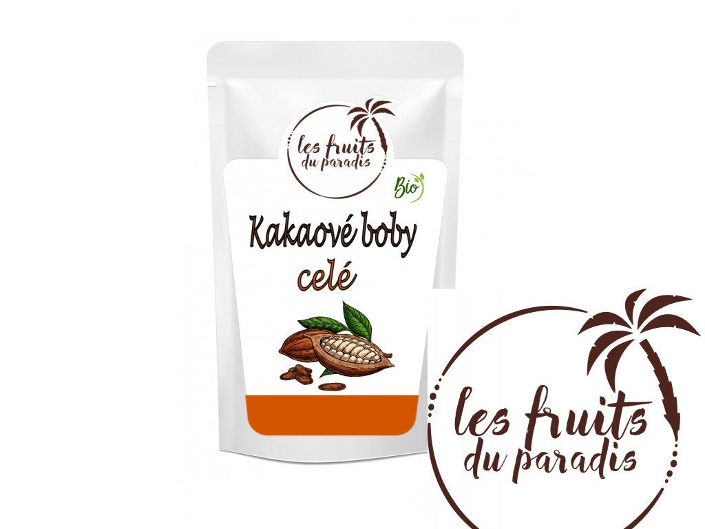Kakaove boby cele sacek