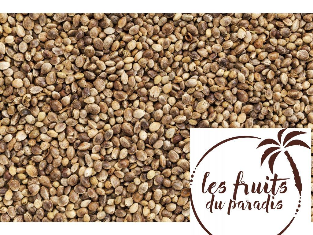 Konopné semínko neloupané BIO, EU 5kg