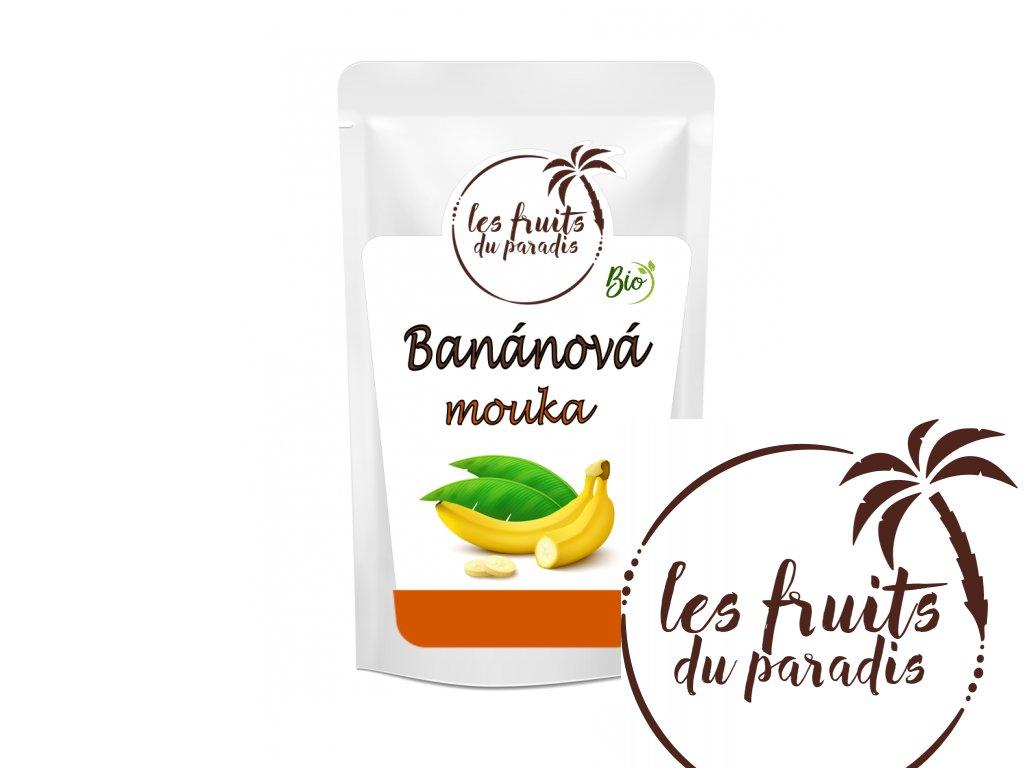 Banánová mouka Bio sacek