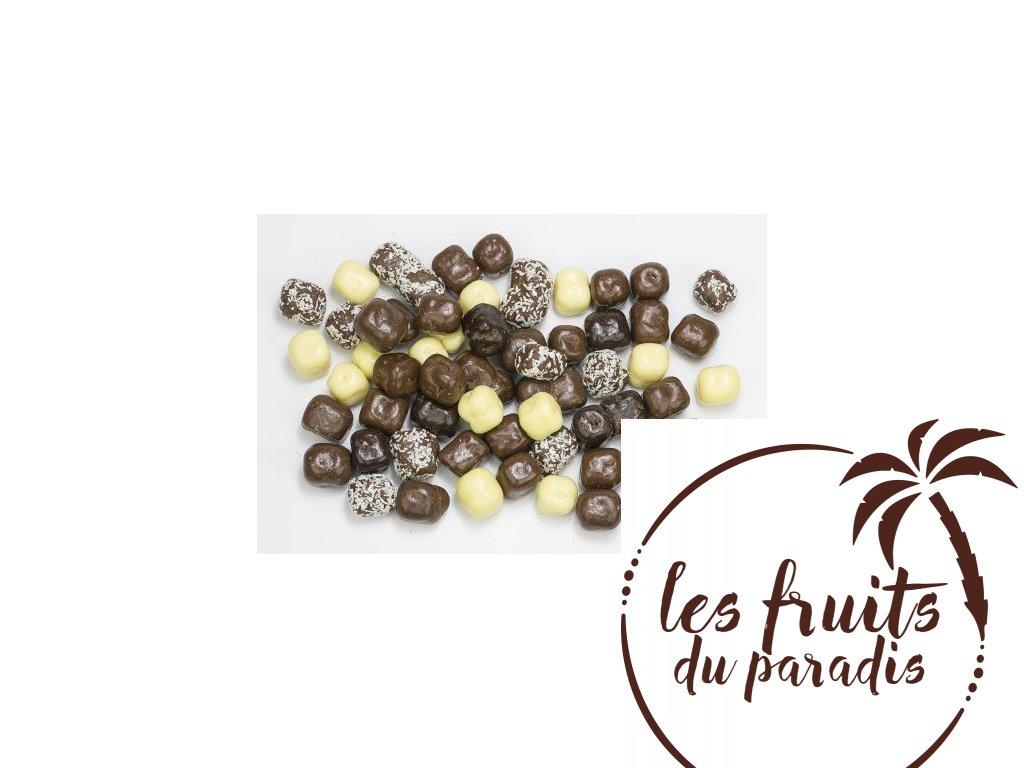 Kokosový mix v čokoláde