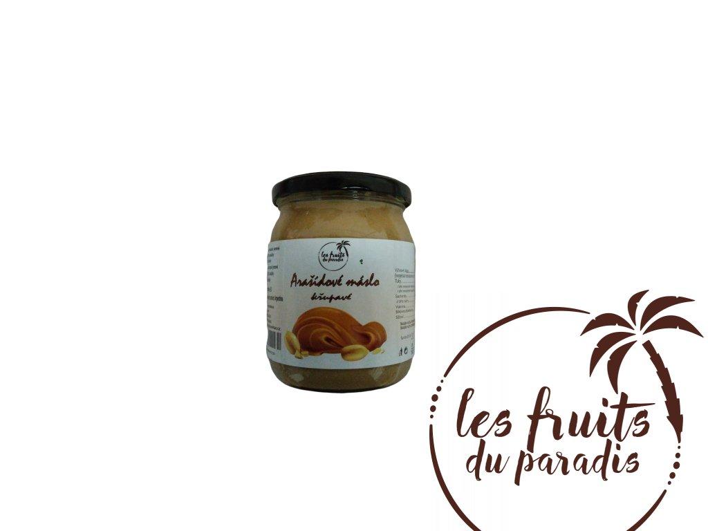 Arašidové máslo Crunchy PL 500gr
