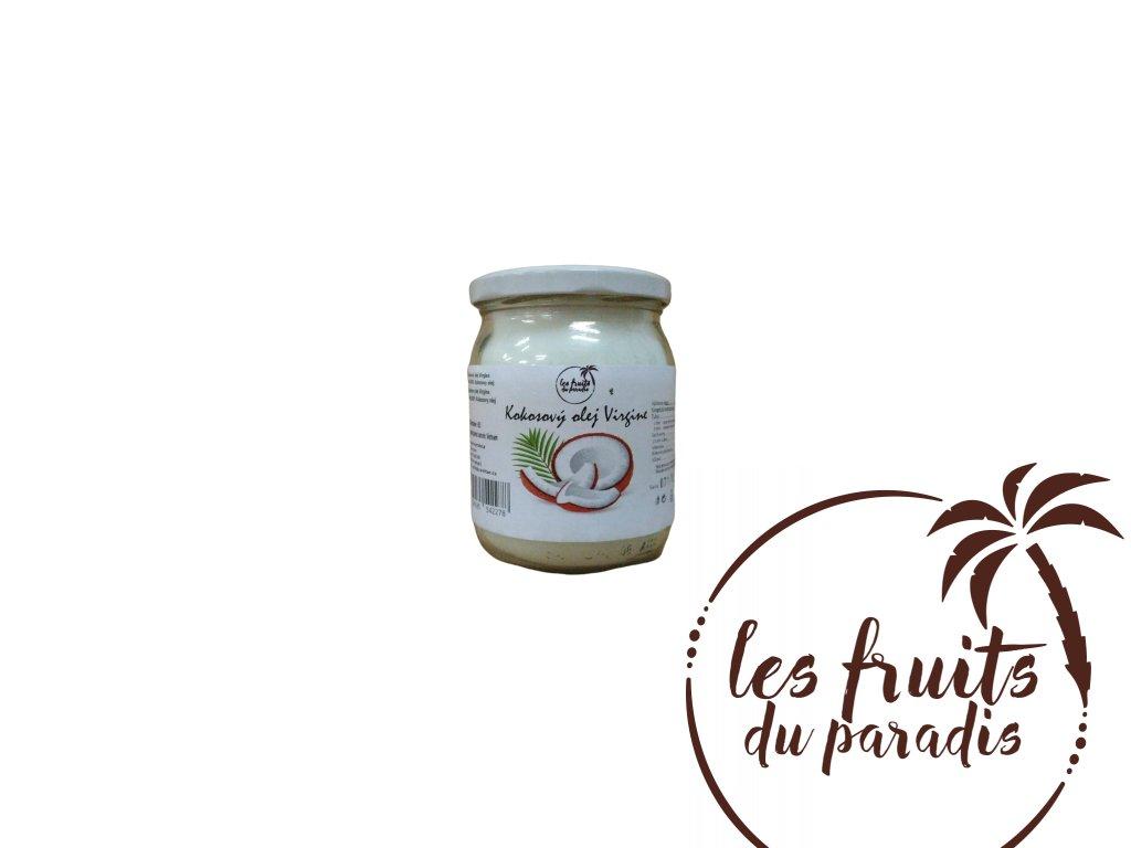 Kokosový olej Virgin 500ml