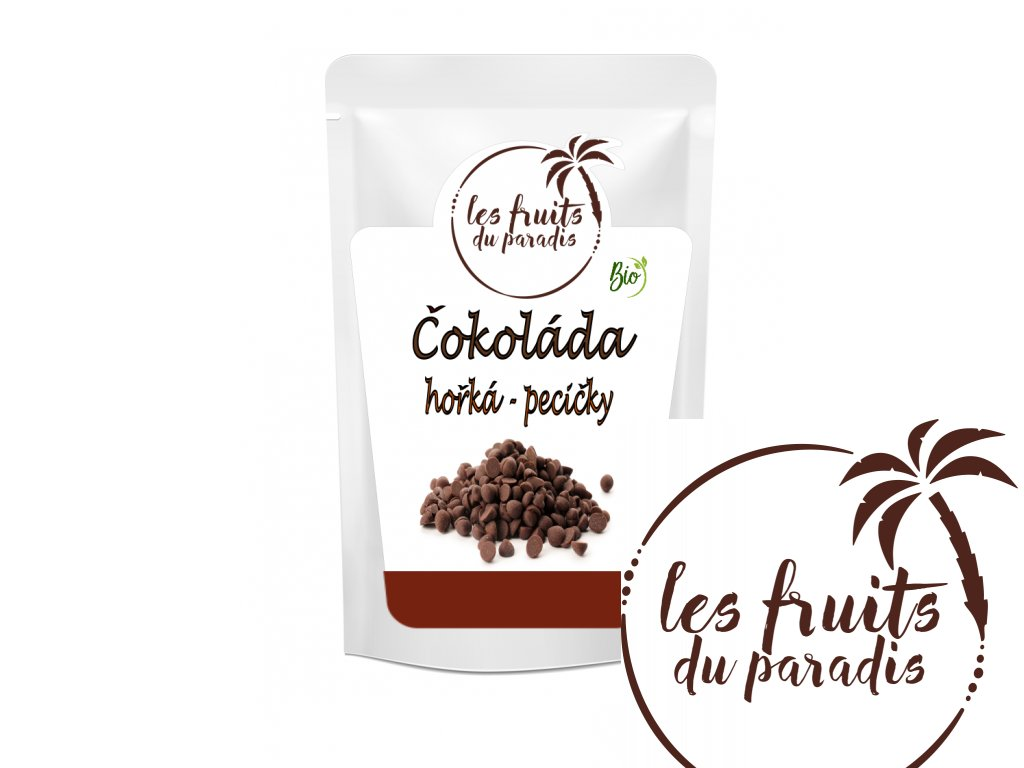 Čokolada hořka pecičky Bio sacek