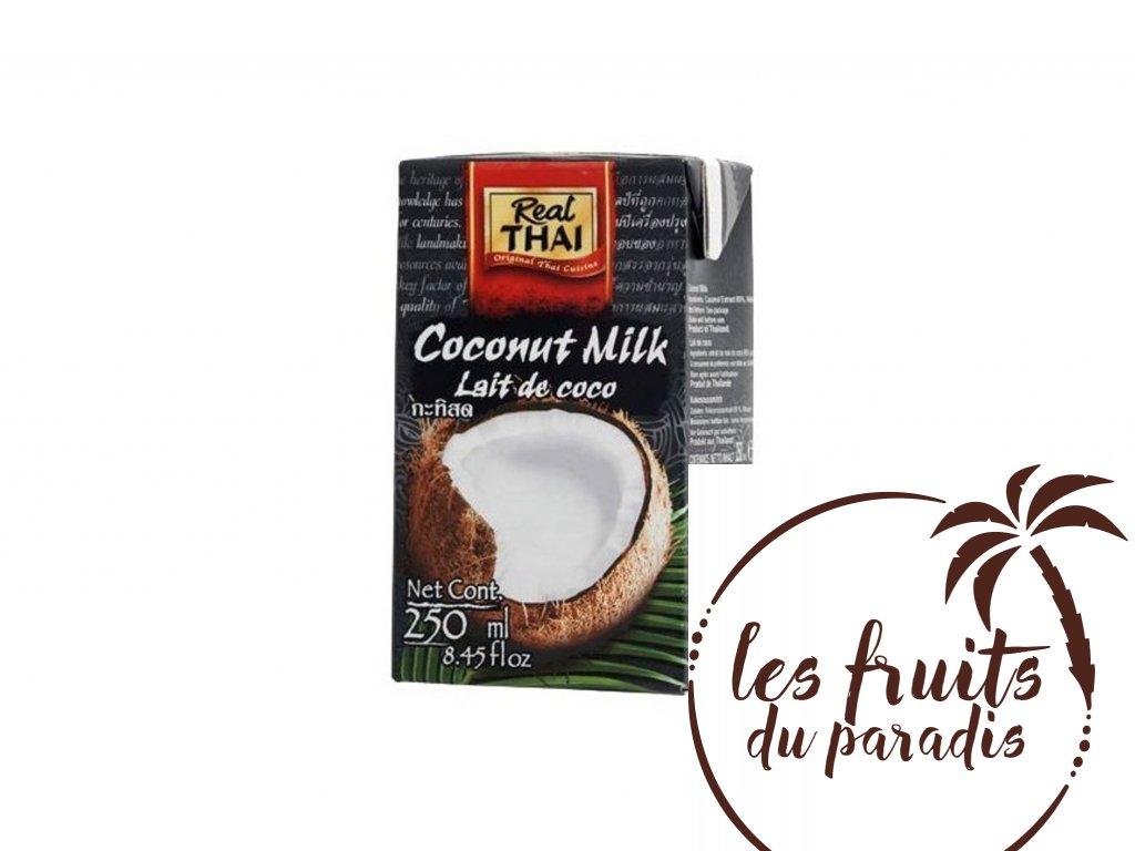 Kokosové mléko 85% extrakt - Real Thai 250ml