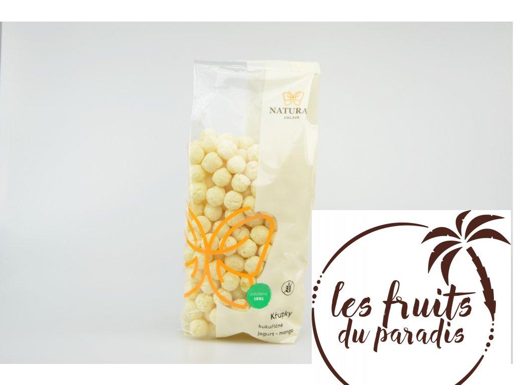Křupky kukuřičné jogurt-mango 140g Natural