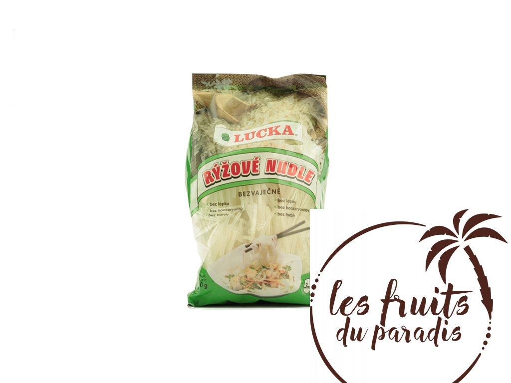 Rýžové nudle bezlepkové 3mm - Lucka 240g  Natural Jihlava