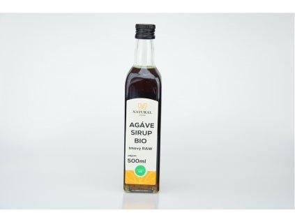 Agáve sirup Bio tmavý prémium 500ml Natural