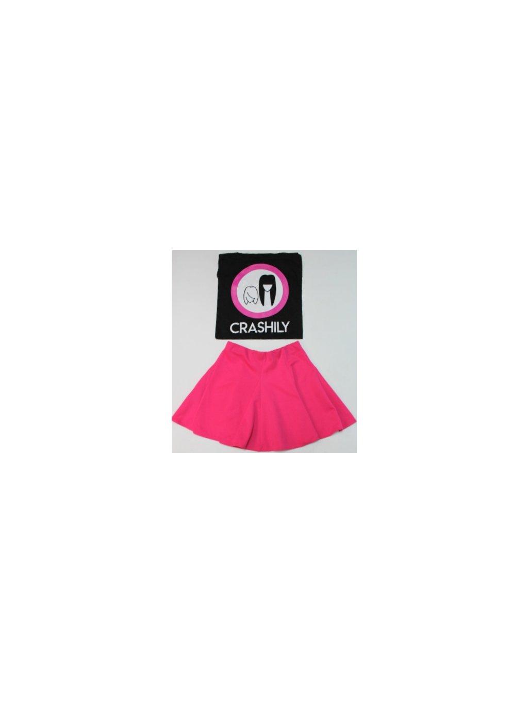 růžová tenisová sukně