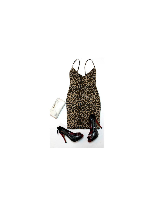 leopardí pouzdrovky na ramínka
