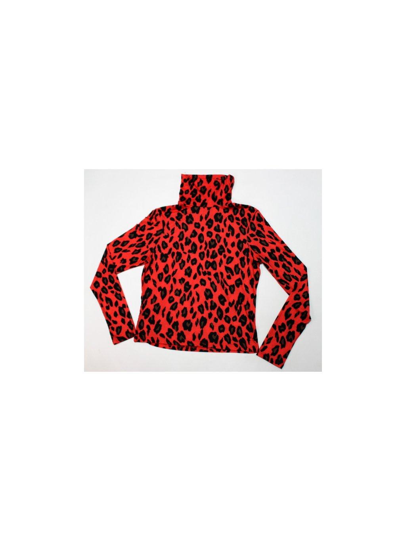 červený leopardí rolák