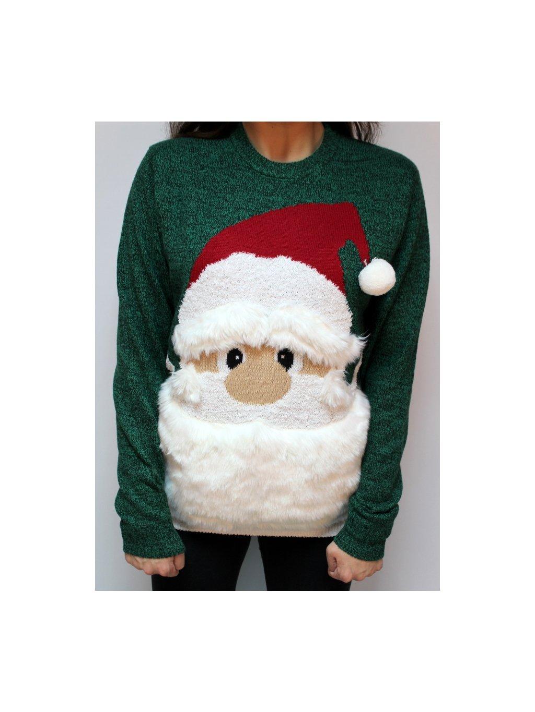 vánoční svetr se Santou