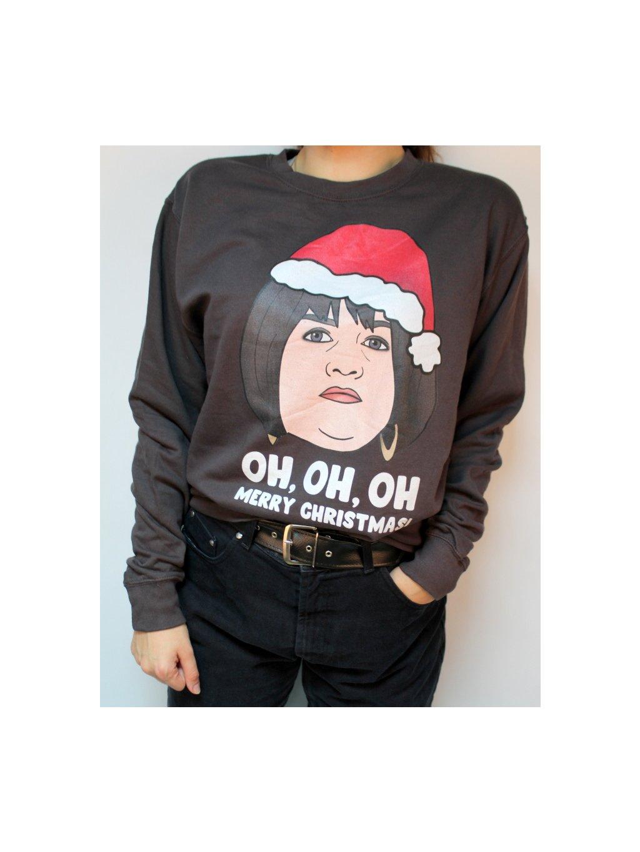 vánoční mikina oh oh oh