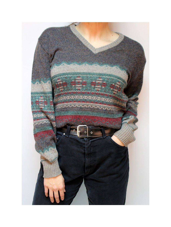 pánský vintage svetr