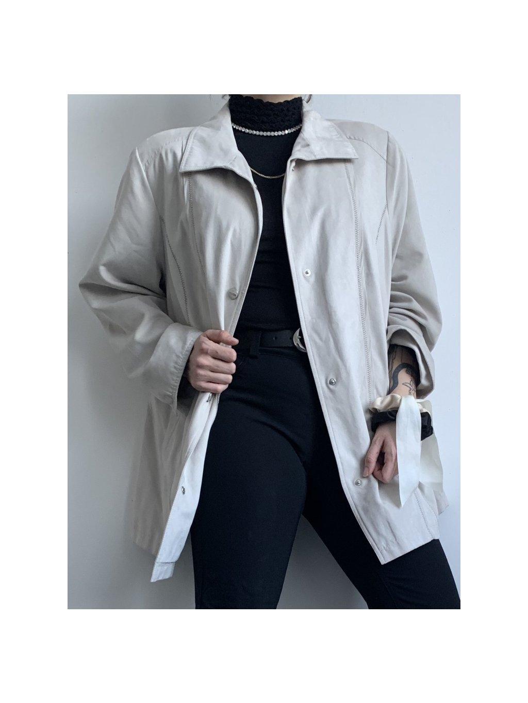 béžový vintage kabátek