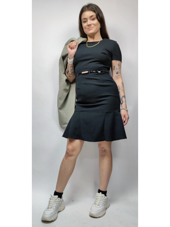 černé office šaty M&S