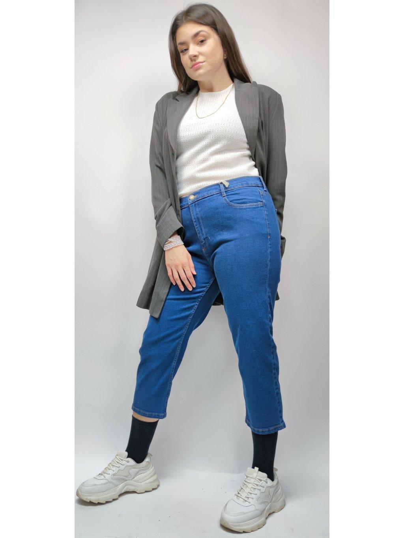 crop 7/8 džíny do pasu