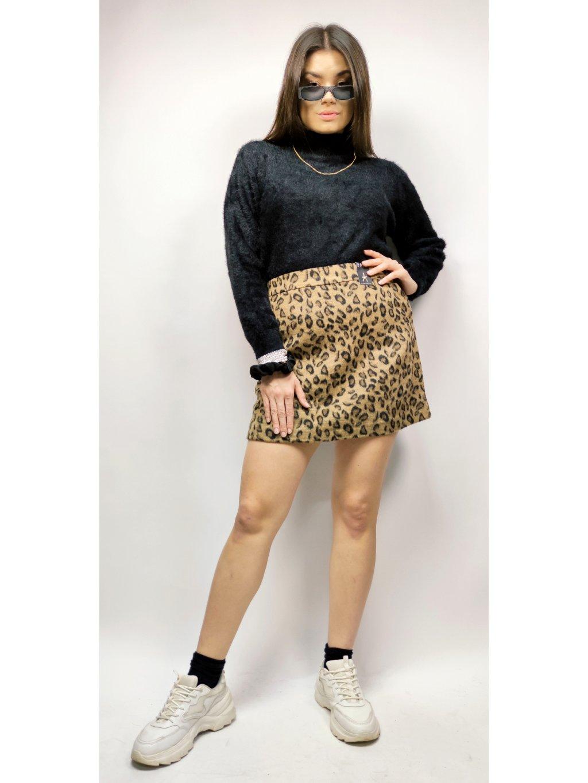 leopardí sukně
