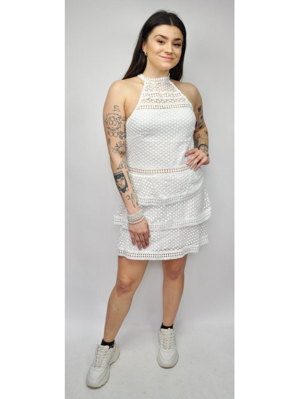 krajkové šaty se stojáčkem