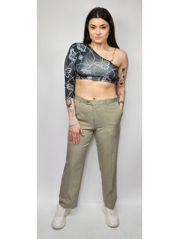 vintage plátěné kalhoty