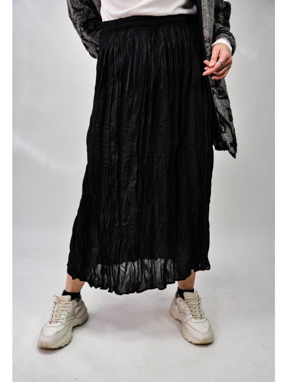 černá vintage sukně na gumu